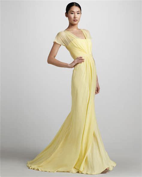 Wedding Dress Yellow by Yellow Wedding Gowns Rustic Wedding Chic