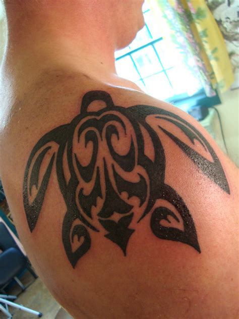 20 awesome tribal turtle tattoos only tribal