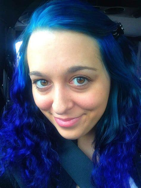 pravana blue hair color diluted pravana vivids in blue on top then strength