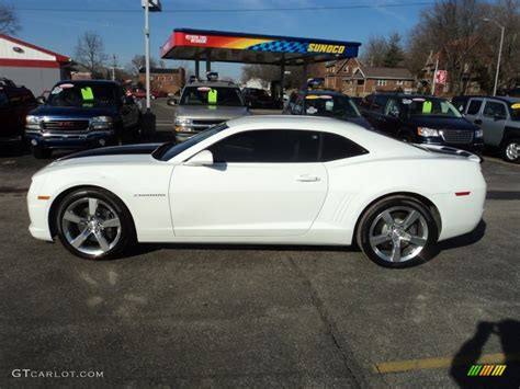 Must Colours For Ss 2011 by 2011 Summit White Chevrolet Camaro Ss Coupe 76929089