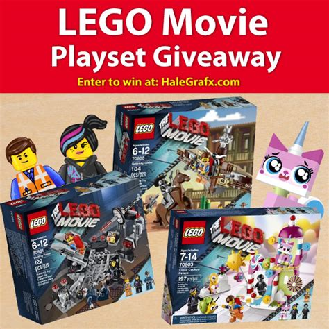 the lego movie playset giveaway - Movie Giveaways