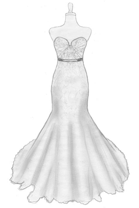 how to design a dress a bride s design design your own wedding gown