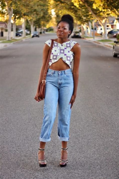 ankara top on trousers ankara top on jeans how to wear it right jiji ng blog