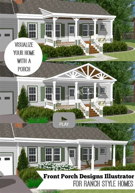 home design story add me great front porch designs illustrator on a basic ranch