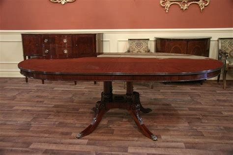 mahogany dining bench 54 round to oval mahogany dining table with leaves ebay