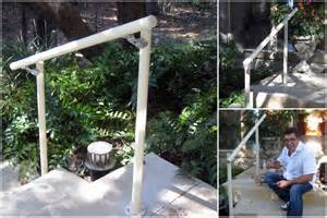 Handrails For Outdoor Steps Easy To Install Outdoor Stair Railing