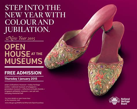 singapore museum new year open house open house at the museums free admission to on new