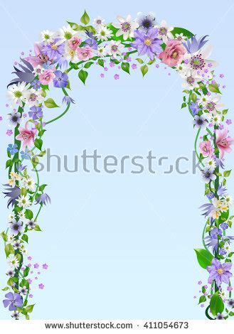 Wedding Arch Drawing by Pergola Stock Photos Images Pictures