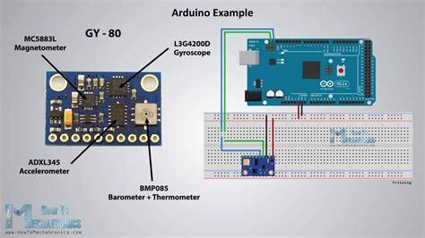 arduino gyroscope tutorial how mems accelerometer gyroscope magnetometer work arduino