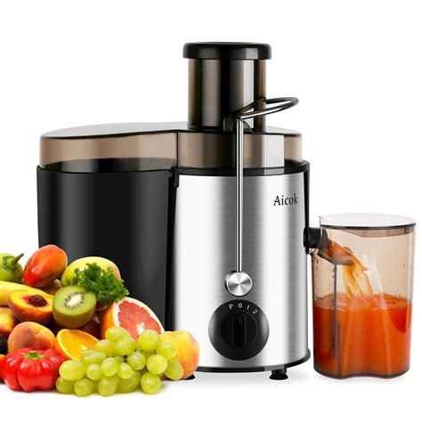 aicok juicer professional whole fruit juicer 400w power