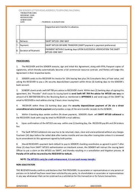 Sawa Credit Transfer Format Doa Mt103 One Way