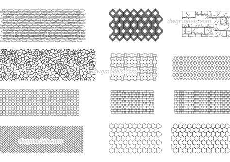 seamless texture  stone dwg  cad blocks