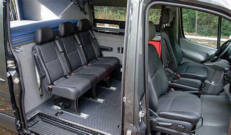 vanlife    add seats   full size cargo van bikerumor