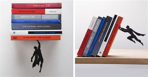 bookend that keeps your books from falling