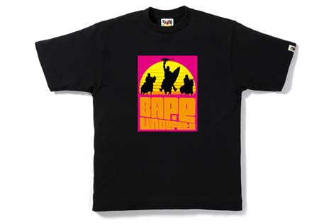 Kaos Bape Tshirt A Bathing Ape Tees Undefeated Undft Top Picks From Bape X Undftd Summer Collection Endless