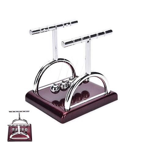 Pajangan Per 5 pajangan meja pendulum newton model t size s brown