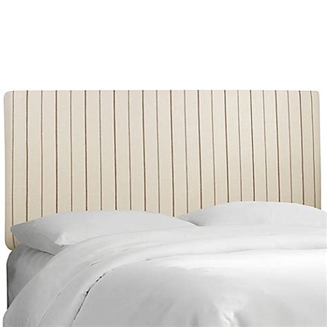 Skyline Furniture Trendy Upholstered Headboards Bed Bath