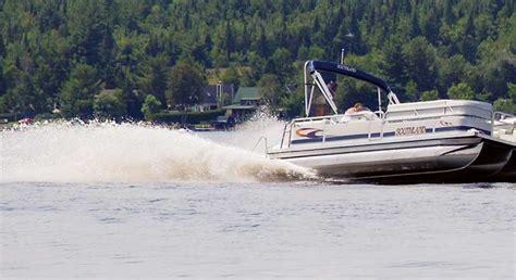 third pontoon kit pontoon boat performance