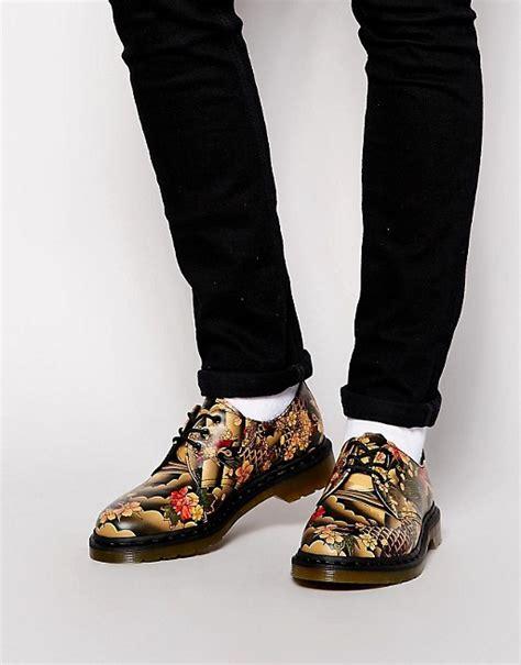 tattoo pattern doc martens dr martens dr martens 3 eye tattoo print shoes