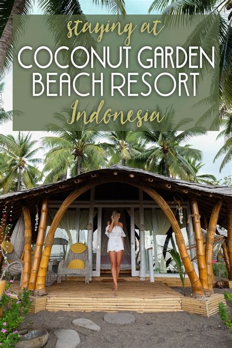 Garden Of Coconut Staying At Coconut Garden Resort In Indonesia The