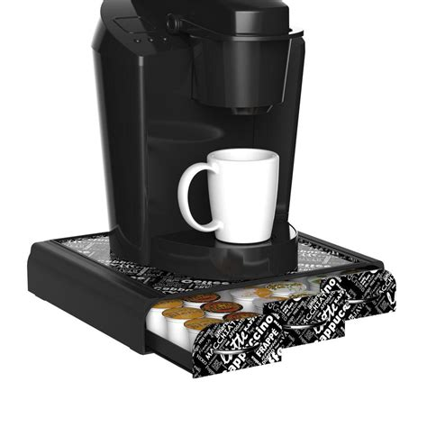 Coffee Pod Holder Drawer by Mind Reader Anchor 36 Capacity Coffee Pod Drawer In