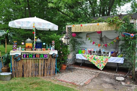 luau backyard party ideas aloha
