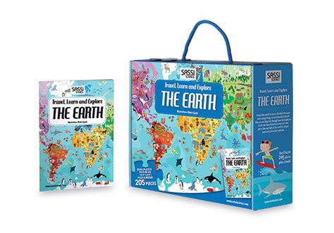 libro the goldfish boy the earth puzzle and book goldfish toyshop