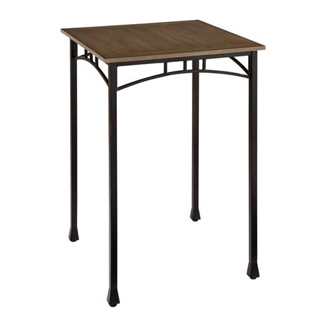 Modern Bar Table Shop Home Styles Modern Craftsman Oak Wood Bar Table At Lowes
