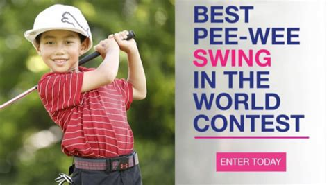 best golf swing in the world submit your video for the little linksters best pee wee