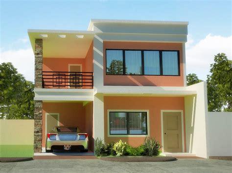 koleksi foto desain rumah minimalis 2 lantai tak depan dan belakang desain rumah perumahan