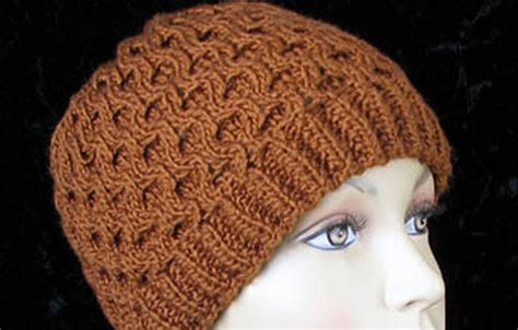 hats free patterns honeycomb hat free knitting pattern in the loop knitting