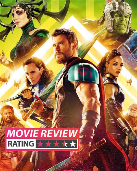 thor film age rating thor ragnarok movie review chris hemsworth and jeff