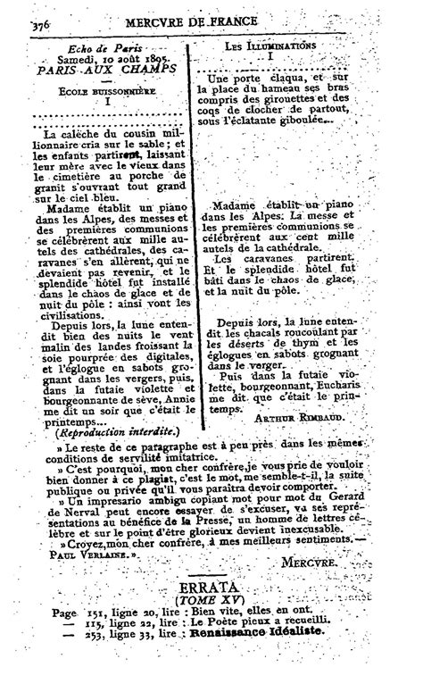RIMBAUD IVRE: Rimbaud et Jean Lorrain, une double