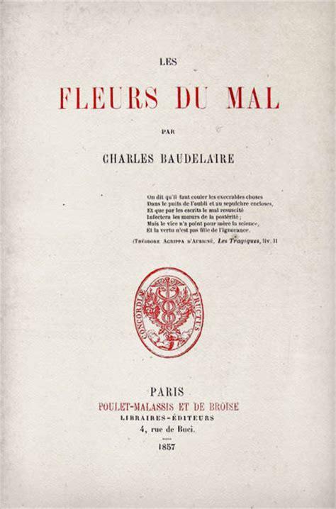 bodler i fiori quot i fiori quot di charles baudelaire analisi completa
