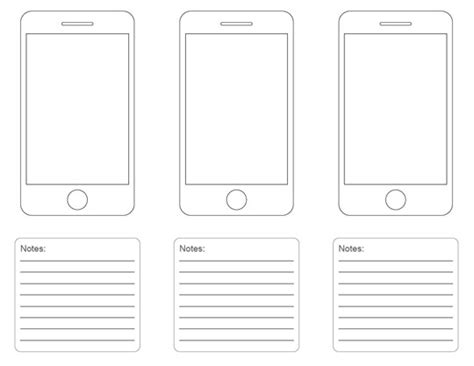10 free printable web design wireframing templates web