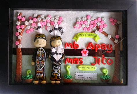 Gantungan Kunci Kado Wisuda Graduation Gift crafto souvenir kado unik untuk pernikahan clay dalam pigura