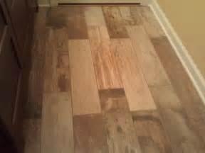 kitchen flooring wood vs wood look tile