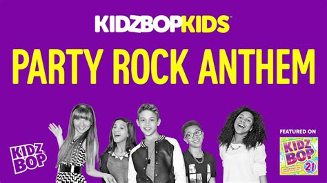 party rock anthem kidz bop kids kidz bop kids party rock anthem kidz bop 21 youtube