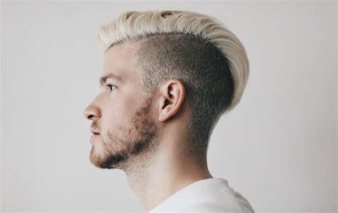 beards male platinum blonde hair color trends