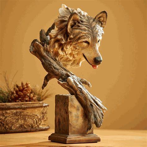 Survivor Wolf Sculpture