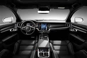 Volvo S90 Volvo S90 R Design Interior Indian Autos