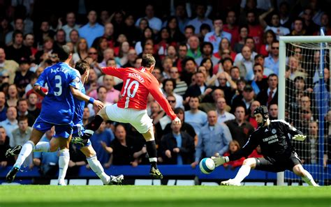 chelsea v manchester united petr cech in chelsea v manchester united premier league