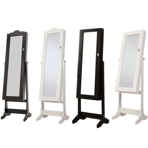 nishano jewellery cabinet mirror floor free standing