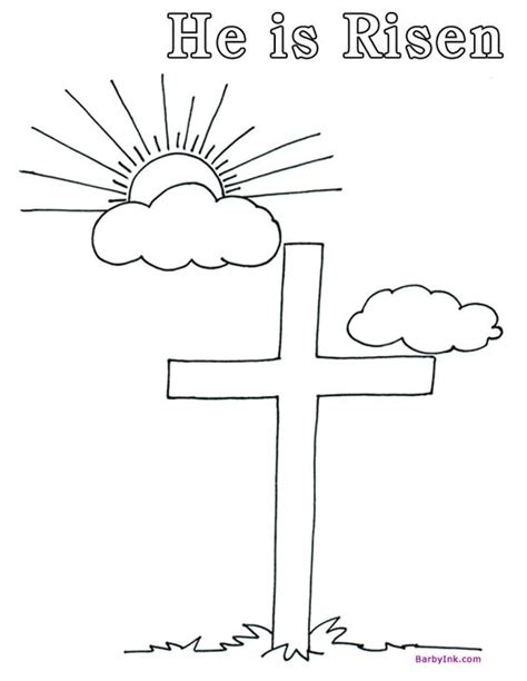print free easter coloring pages like this he is risen