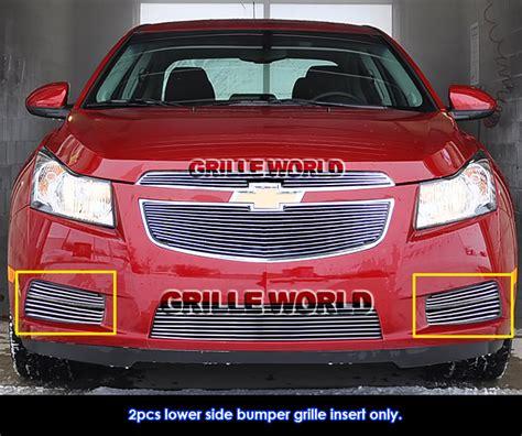 for 2011 2014 chevy cruze fog light billet grille insert