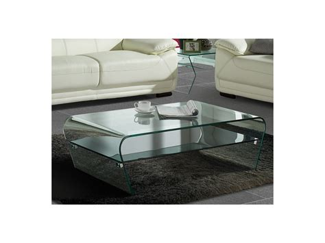 table basse verre tremp 233 tablette laqu 233 e