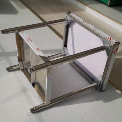 stainless steel corner work table 2 layer commercial kitchen small size stainless steel