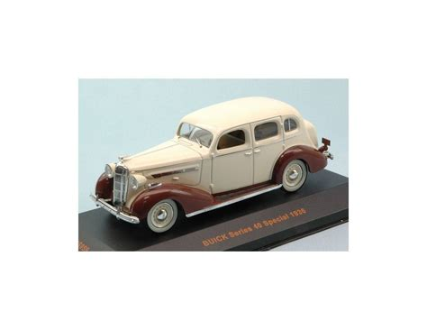 Buick Series 40 Special Year 1936 Beige Brown Museum Mus059 Ean 4895102321018 Ixo Model Mus059 Buick Series 40 Special 1936 Beige Brown 1 43 Modellino