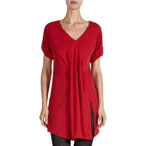 I Tunic balenciaga suspended tunic top in lyst