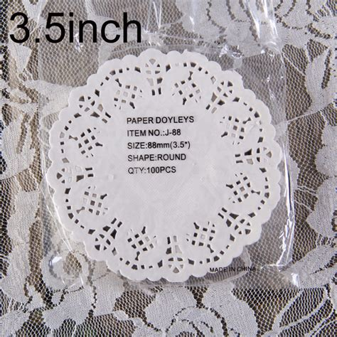 Paper Doyleys 10 5 Termurah Paper Doli Paper Dolly 3 5 quot 88mm vintage napkin hollowed lace paper doilies cake holder crafts paper doyleys for
